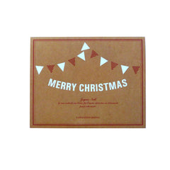Merry Christmas Message Bunting