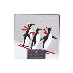 Sara Miller Polar Bear & Penguins Card Wallet (Pack of 10)