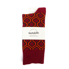 Overlook Hotel Socks