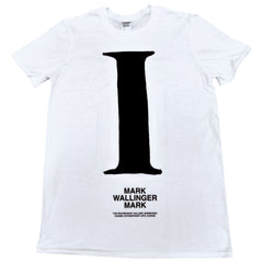 SALE - MARK WALLINGER MARK Exhibition T-Shirt
