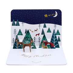 Woodland Pop Up Cards (Pack of 5)