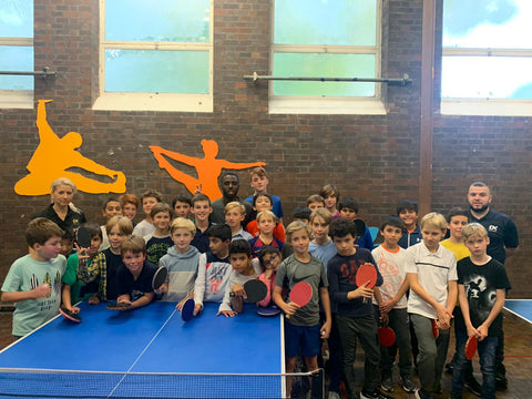 DK Half Term Table Tennis Training Camp - 30th March -3rd April 2020 DON'T MISS OUT !!!