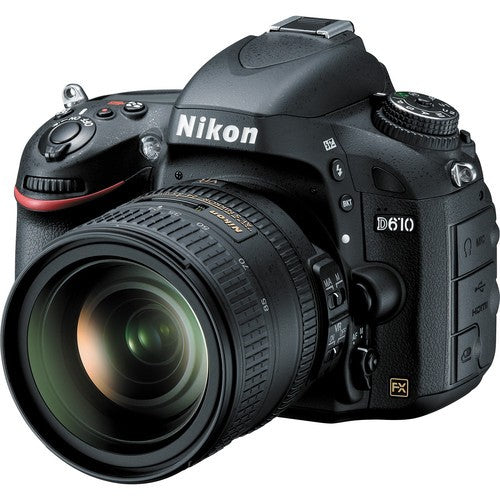 Nikon D610 DSLR Camera with Nikon AF-S Nikkor 24-85mm f/3.5-4.5G ED VR Lens Kit -  instashot
