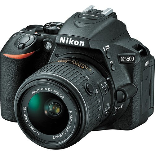 Nikon D5500 DSLR Camera with AF-S NIKKOR 18-55mm f/3.5-5.6G VR II DX Lens Kit -  instashot