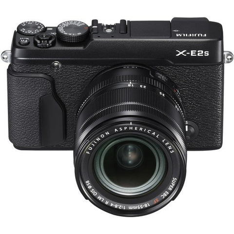 Fujifilm X-E2S Mirrorless Digital Camera with 18-55mm Lens (BLACK) - instashot Camera Store