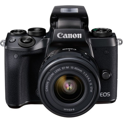 Canon EOS M5 Mirrorless Digital Camera with EF-S 15-45mm f/3.5-6.3 STM IS Lens Kit (Black) -  instashot