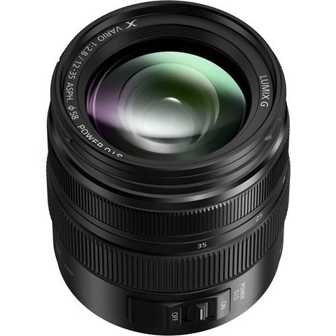 Panasonic LUMIX G X VARIO 12-35mm F2.8 II ASPH. POWER O.I.S. Lens (Black) -  instashot
