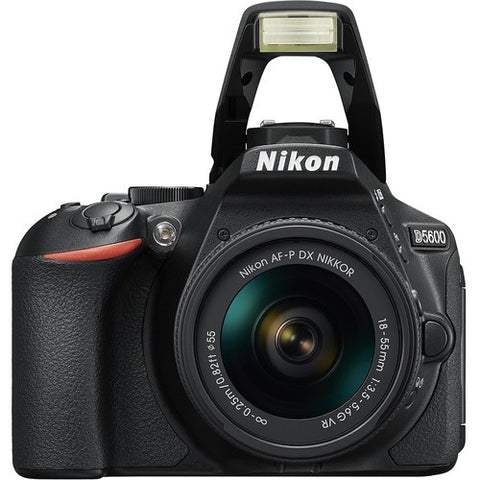 Nikon D5600 DSLR Camera with Nikon AF-P DX Nikkor 18-55mm VR Lens Kit -  instashot