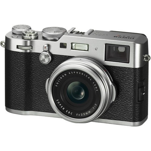 Fujifilm X100F Digital Camera (Black/Silver) - instashot Camera Store