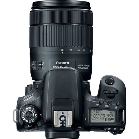 Canon EOS 77D DSLR Camera with 18-135mm IS USM Lens -  instashot