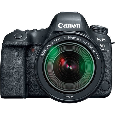 Canon EOS 6D Mark II with EF 24-105mm f/3.5-5.6 IS STM Lens Kit - instashot Camera Store