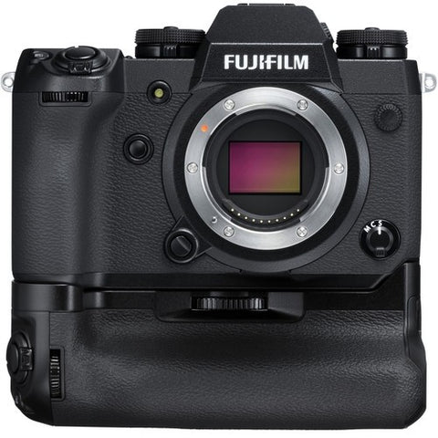 Fujifilm X-H1 Mirrorless Digital Camera Body with Battery Grip Kit (Black) - instashot Camera Store
