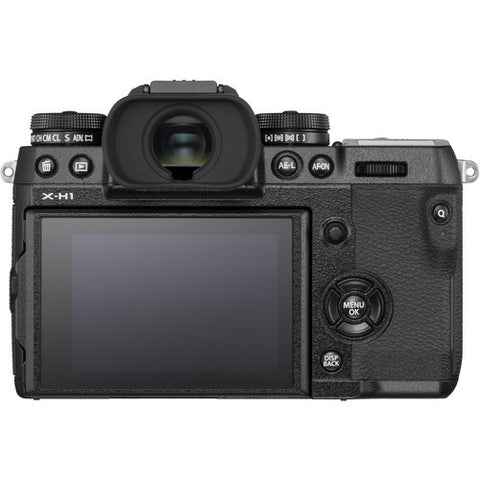 Fujifilm X-H1 Mirrorless Digital Camera Body with Battery Grip Kit (Black) -  instashot