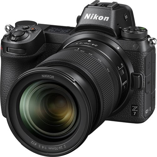 Nikon Z7 Mirrorless Digital Camera with 24-70mm Lens and FTZ Adapter Kit -  instashot