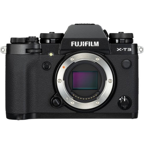 Fujifilm X-T3 Mirrorless Digital Camera (Body Only) (Black/Silver) -  instashot