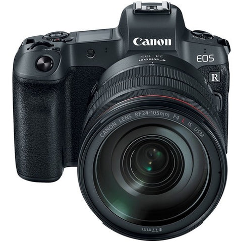 Canon EOS R Mirrorless Digital Camera with RF 24-105mm Lens & EF-EOS R adapter -  instashot