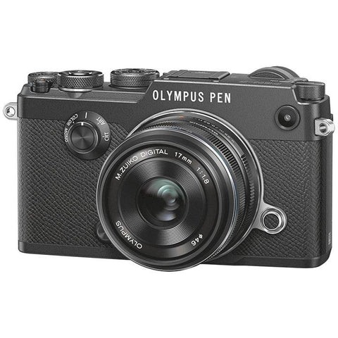 Olympus PEN-F Mirrorless Micro Four Thirds Digital Camera with 17mm f/1.8 Lens Kit -  instashot
