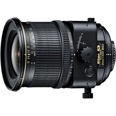 Nikon PC-E Nikkor 24mm f/3.5D ED Manual Focus Wide Angle Lens - instashot Camera Store