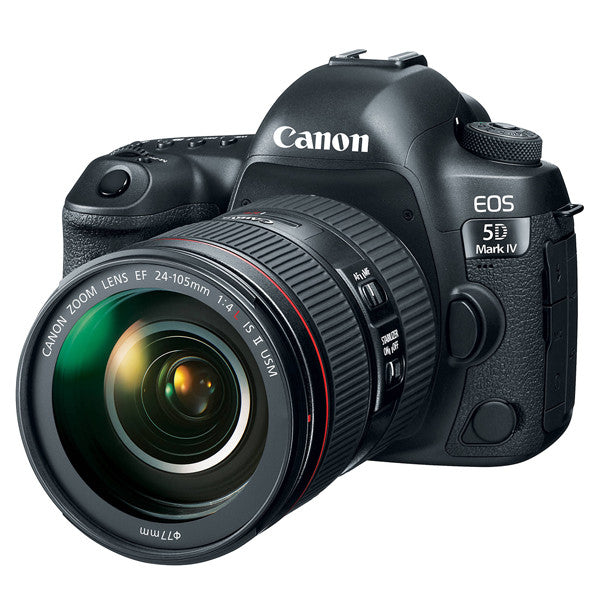 Canon EOS 5D Mark IV DSLR Camera with EF 24-105mm f/4L II Lens Kit -  instashot