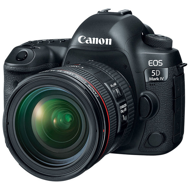 Canon EOS 5D Mark IV DSLR Camera with EF 24-70mm f/4L IS USM Lens Kit -  instashot