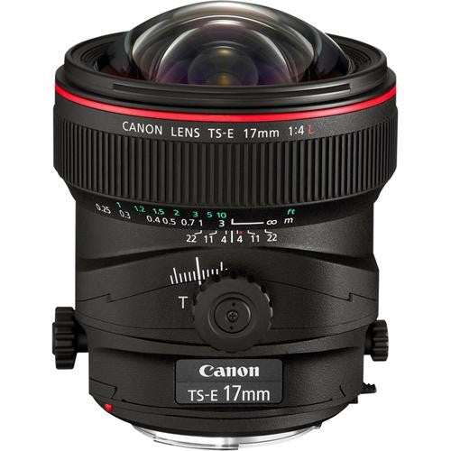 Canon TS-E 17mm f/4L Tilt/Shift Manual Focus Lens -  instashot