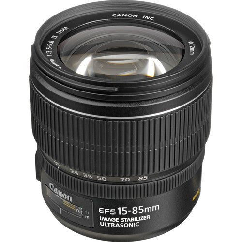 Canon EF-S 15-85mm f/3.5-5.6 IS USM APS-C DSLR Lens -  instashot