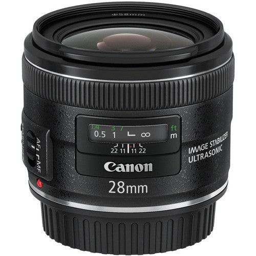 Canon EF 28mm f/2.8 IS USM Lens -  instashot