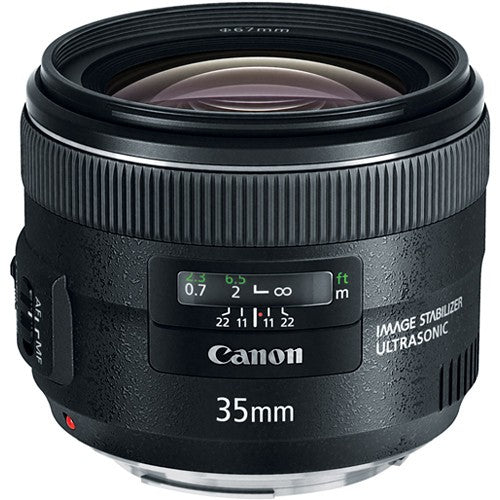 Canon EF 35mm f/2 IS USM Lens -  instashot