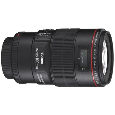 Canon EF 100mm f/2.8L IS USM Macro Lens - instashot Camera Store