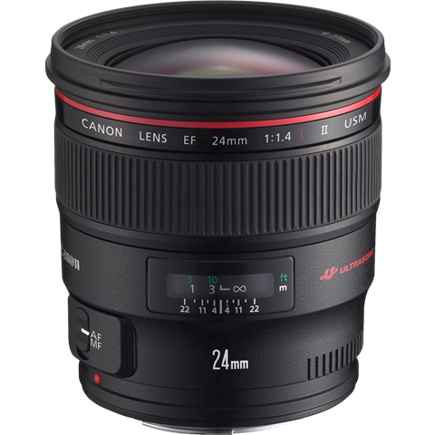 Canon EF 24mm f/1.4L II USM Fixed Focal Length Lens -  instashot