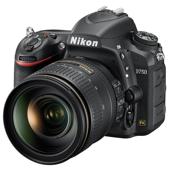 Nikon D750 DSLR Camera with Nikon AF-S NIKKOR 24-120mm f/4G ED VR Zoom Lens Kit -  instashot