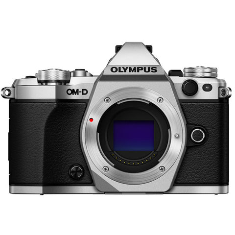 Olympus OM-D E-M5 Mark II Mirrorless Micro Four Thirds Digital Camera (Body) - instashot Camera Store