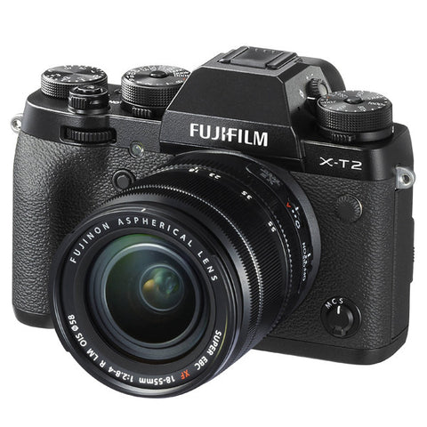 Fujifilm X-T2 Mirrorless Digital Camera with 18-55mm Lens - instashot Camera Store