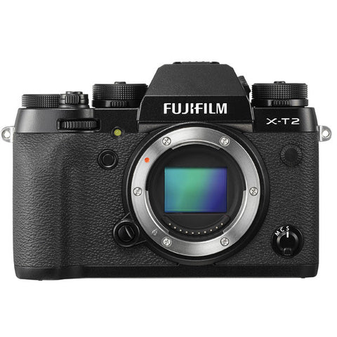 Fujifilm X-T2 Mirrorless 24.3MP Digital Camera (Body Only) Black/Silver -  instashot