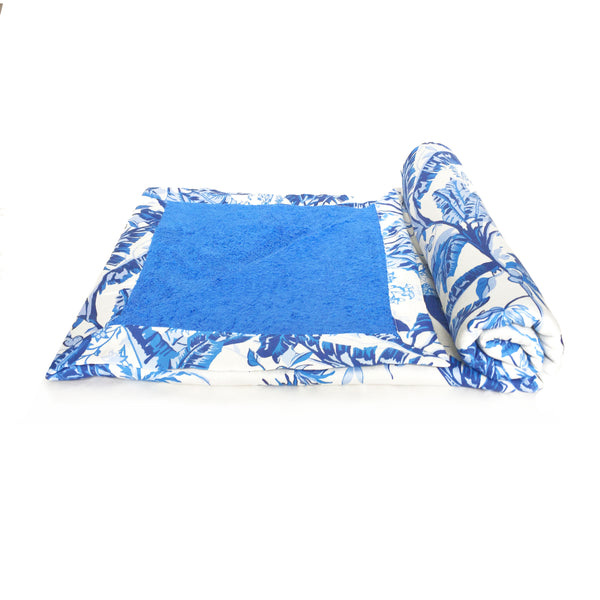 PRINTED COTTON BEACH TOWEL  TOALLA DE PLAYA ESTAMPADA ALGODON