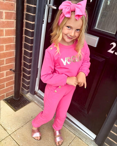 Vogue Tracksuit-Loungewear-Children-Clothing-Cutsie Bobbs