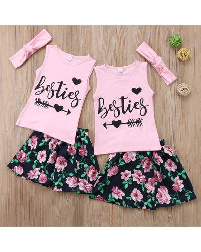 Besties Outfits-Sets-Children-Clothing-Cutsie Bobbs
