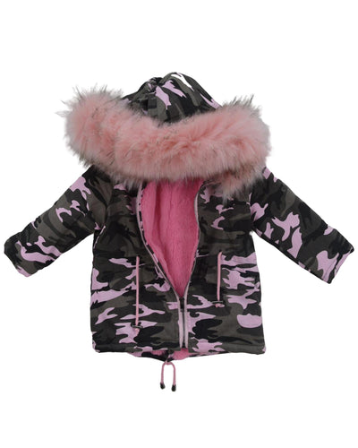 Camo Parker Coat-Winter Coats-Children-Clothing-Cutsie Bobbs