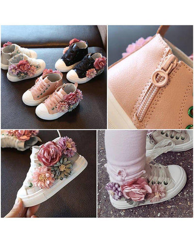 Florence Bloom Sneakers-Trainers/Pumps-Children-Clothing-Cutsie Bobbs