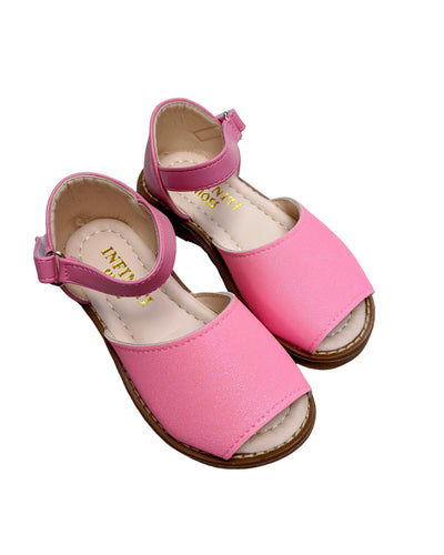 Fluorescent Pink Sandals-Sandals-Children-Clothing-Cutsie Bobbs
