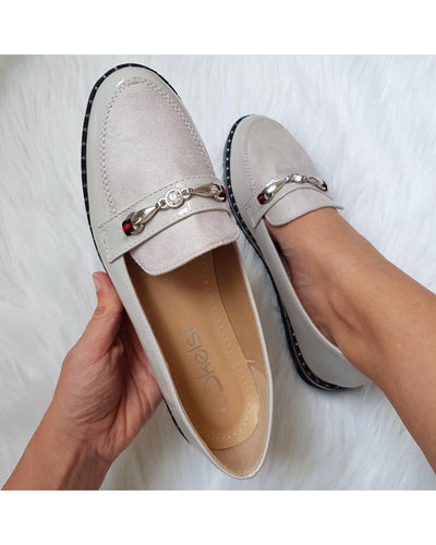 Lois Chain Loafers-Ladies Shoes-Children-Clothing-Cutsie Bobbs