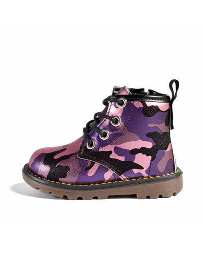 Purple Camouflage Boots-Boots-Children-Clothing-Cutsie Bobbs