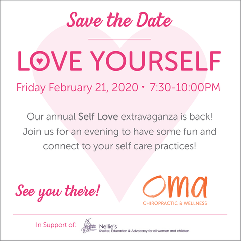 LOVE YOURSELF EVENT - NOT ATTENDING BUT WANT TO SUPPORT NELLIE'S! Oma Wellness Store - Oma Wellness Store