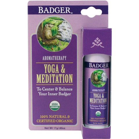 Badger - Yoga and Meditation Aromatherapy Balm (6oz) Badger Body Care- Oma Wellness Store