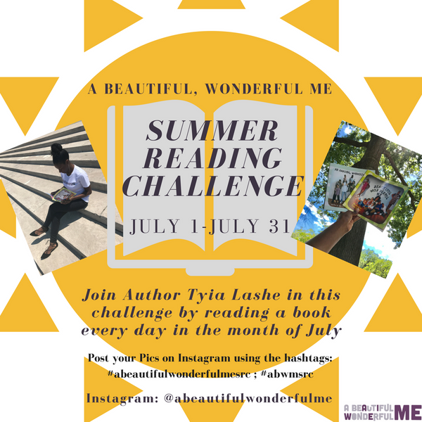 A Beautiful, Wonderful Me Summer Reading Challenge!!