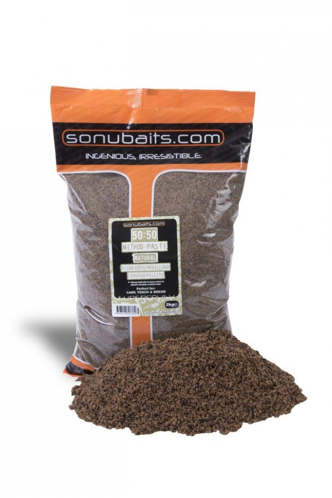 Sonubaits - 50:50 Method & Paste Natural groundbait