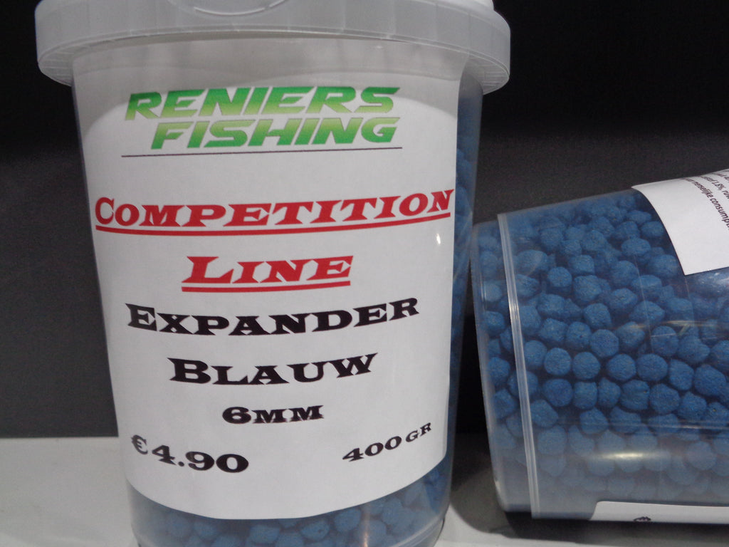 Competition Line - Expander 6mm Blauw