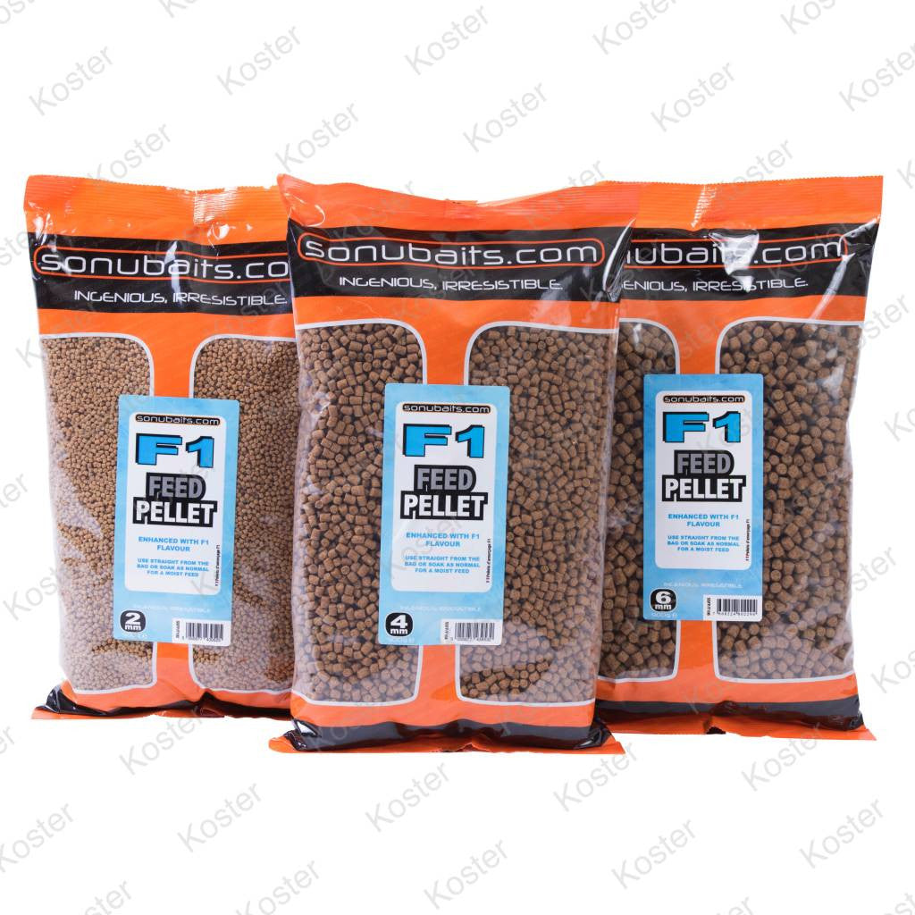 Sonubaits - F1 Feed Pellet 4mm