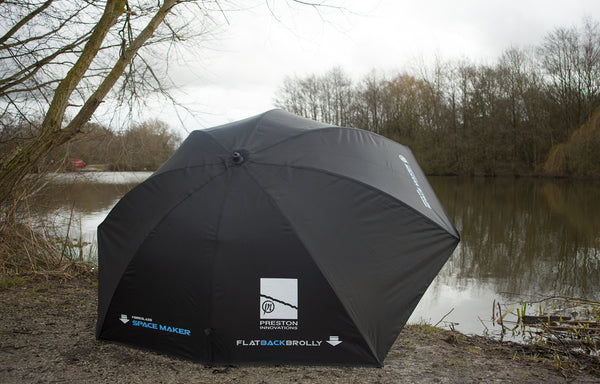 Preston - Space Maker Flat Back Brolly