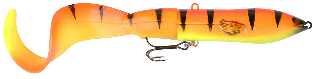 3D Hard Eel Tail Bait - Golden Ambulance (25cm - 109gr)